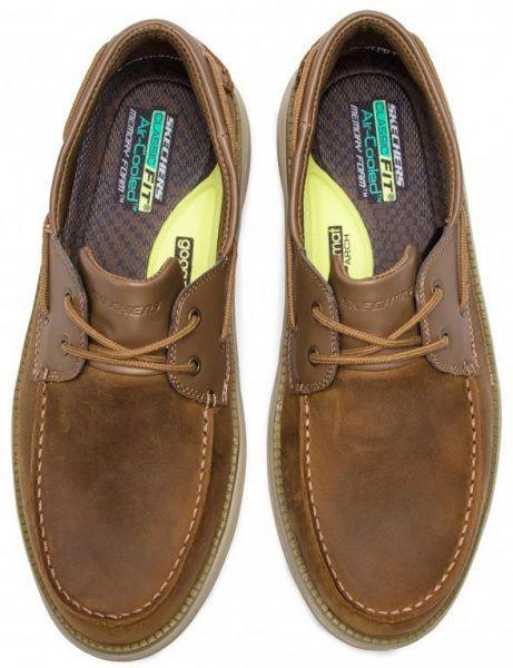 Полуботинки для мужчин Skechers KM3107 брендовая обувь, 2017