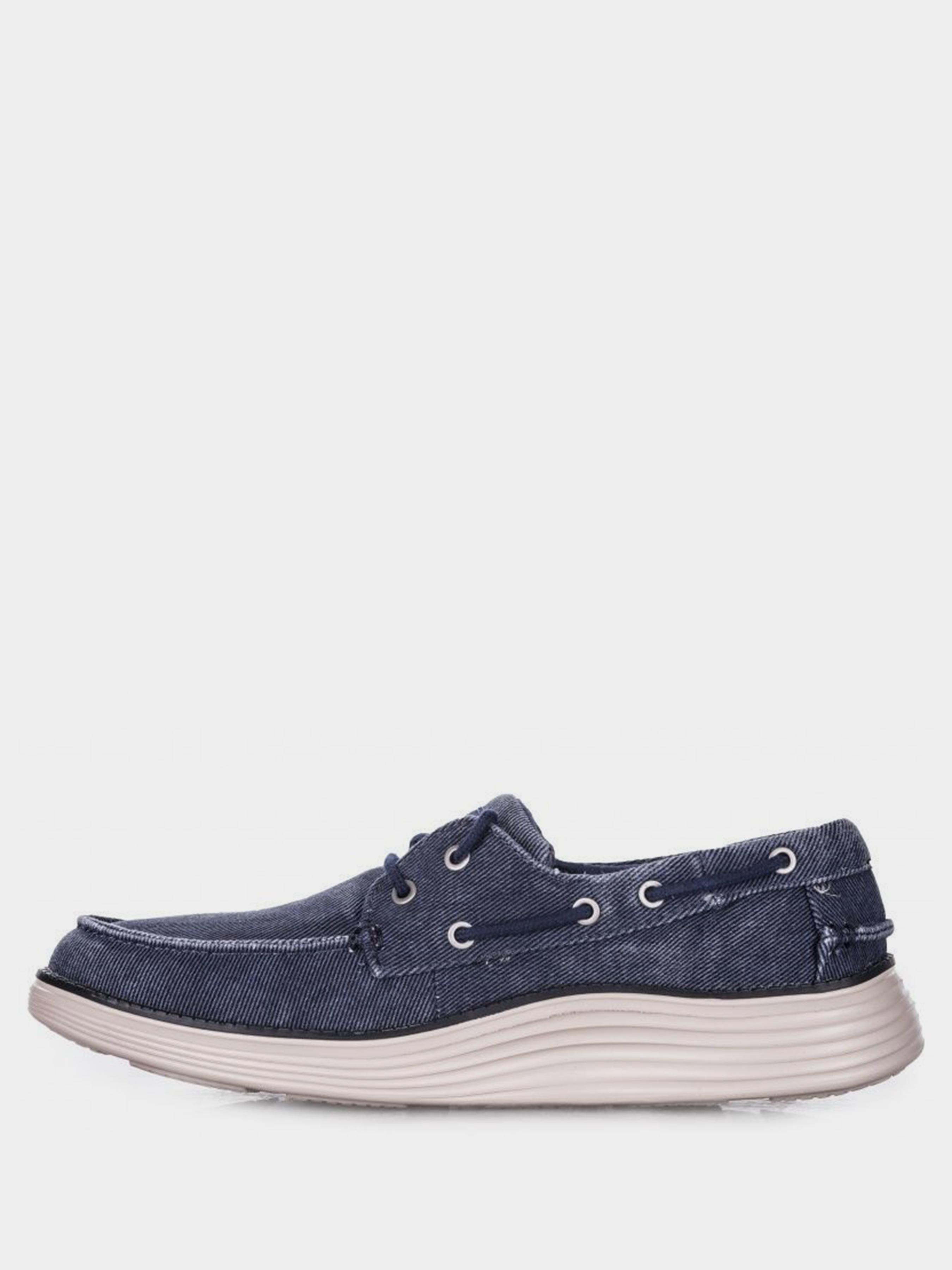 Мокасини  для чоловіків Skechers 65908 NVY купити взуття, 2017