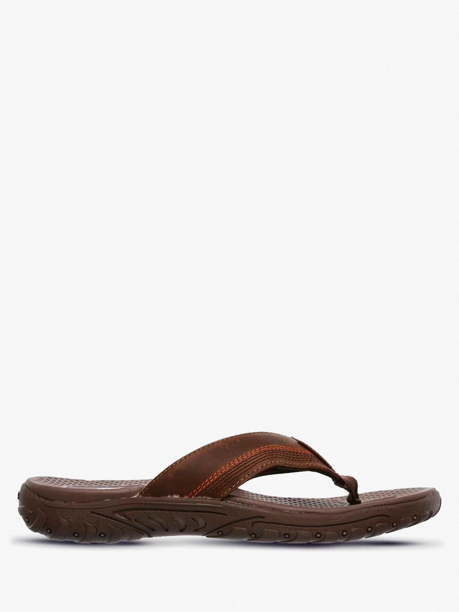 Шльопанці  для чоловіків Skechers 65460 BRN купити взуття, 2017