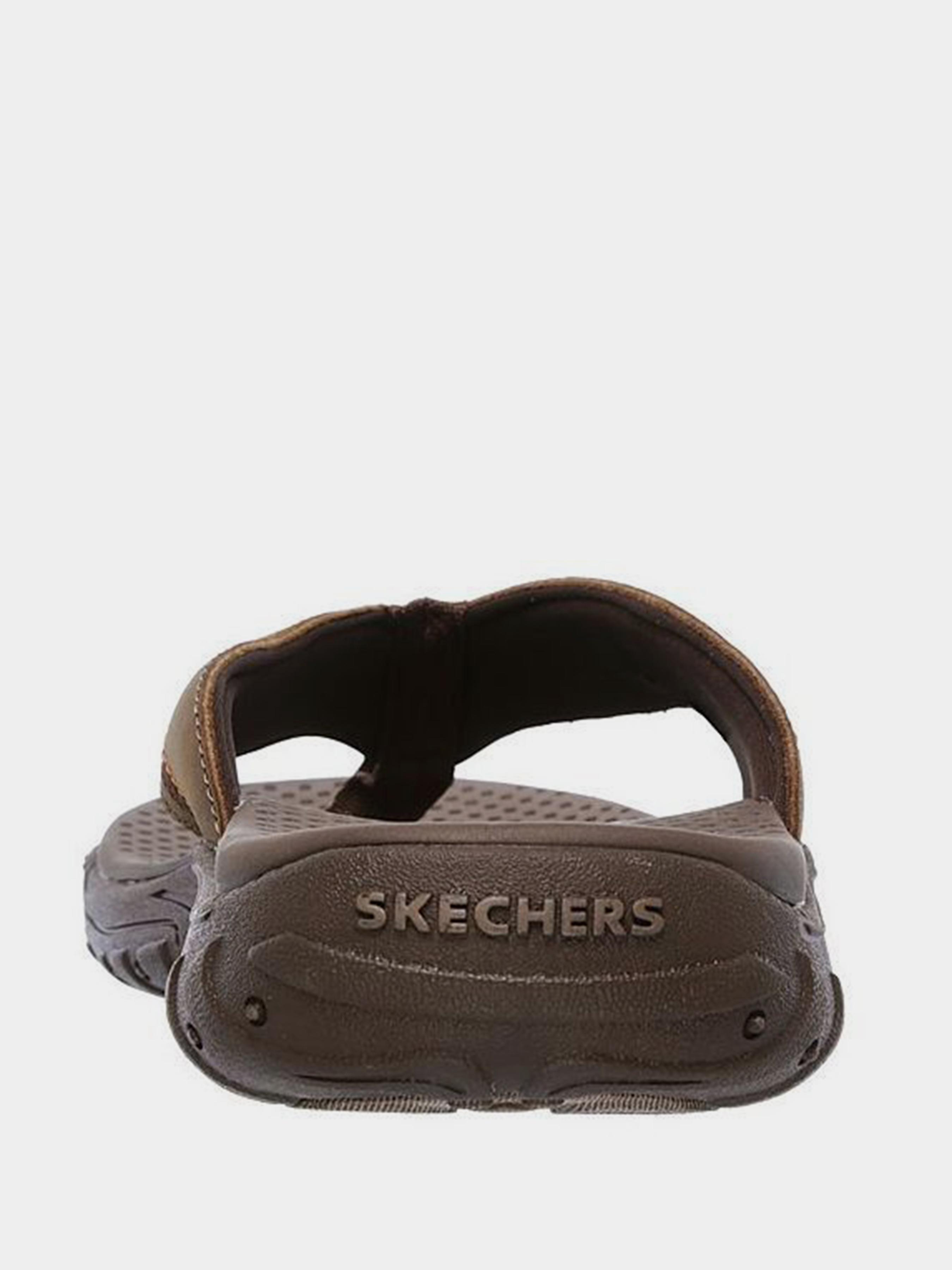 Шльопанці  для чоловіків Skechers 65460 BRN в Україні, 2017