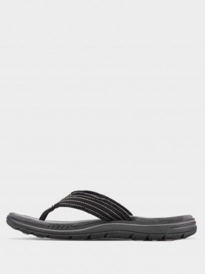 Шльопанці  для чоловіків Skechers 65091 BLK 65091 BLK брендове взуття, 2017