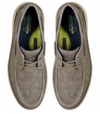 Полуботинки для мужчин Skechers KM3266 брендовая обувь, 2017
