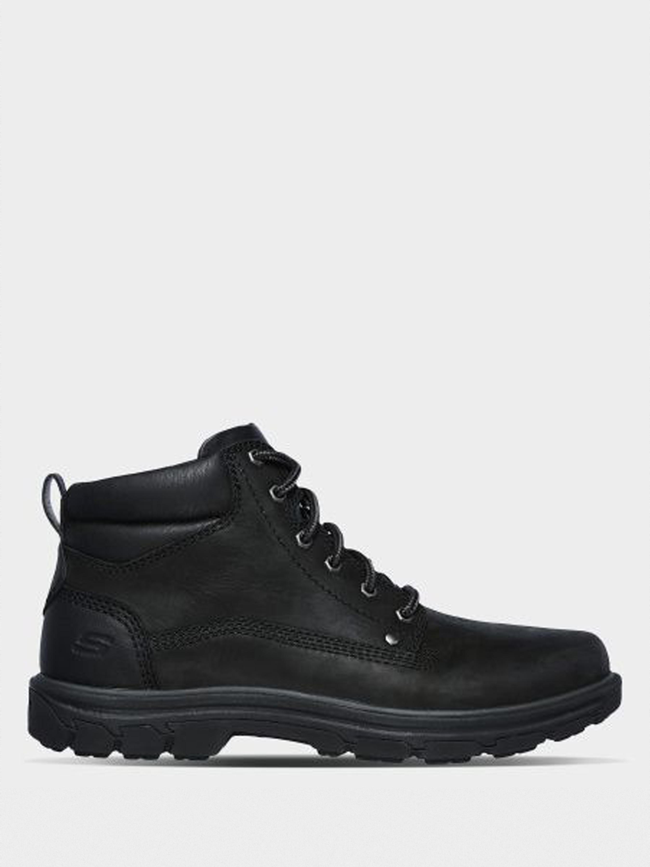 Купить Ботинки мужские Skechers KM3314, Черный