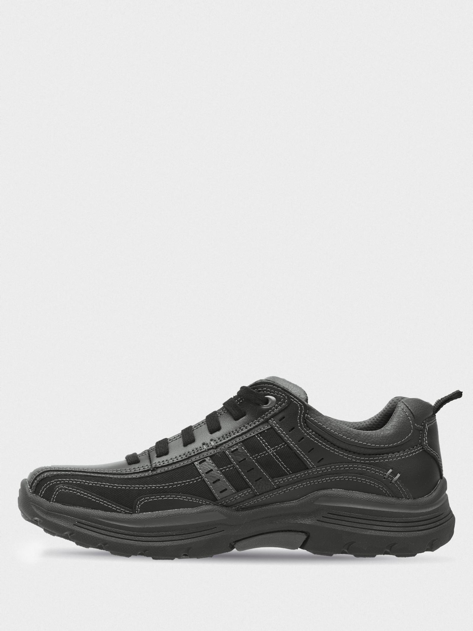 Напівчеревики  чоловічі Skechers 66299 BLK купити взуття, 2017
