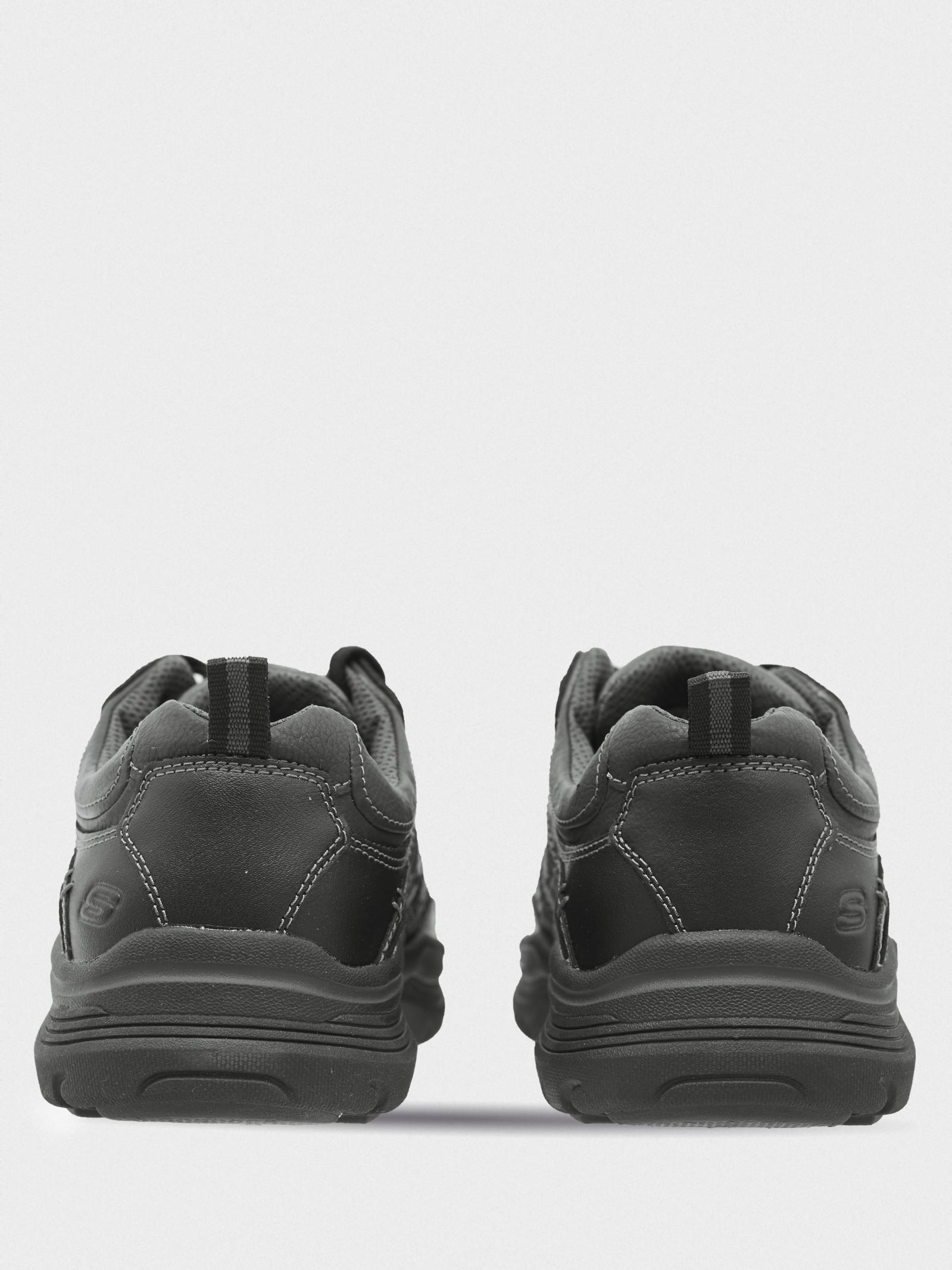 Напівчеревики  чоловічі Skechers 66299 BLK замовити, 2017