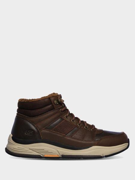 Купить Ботинки мужские Skechers KM3385, Коричневый