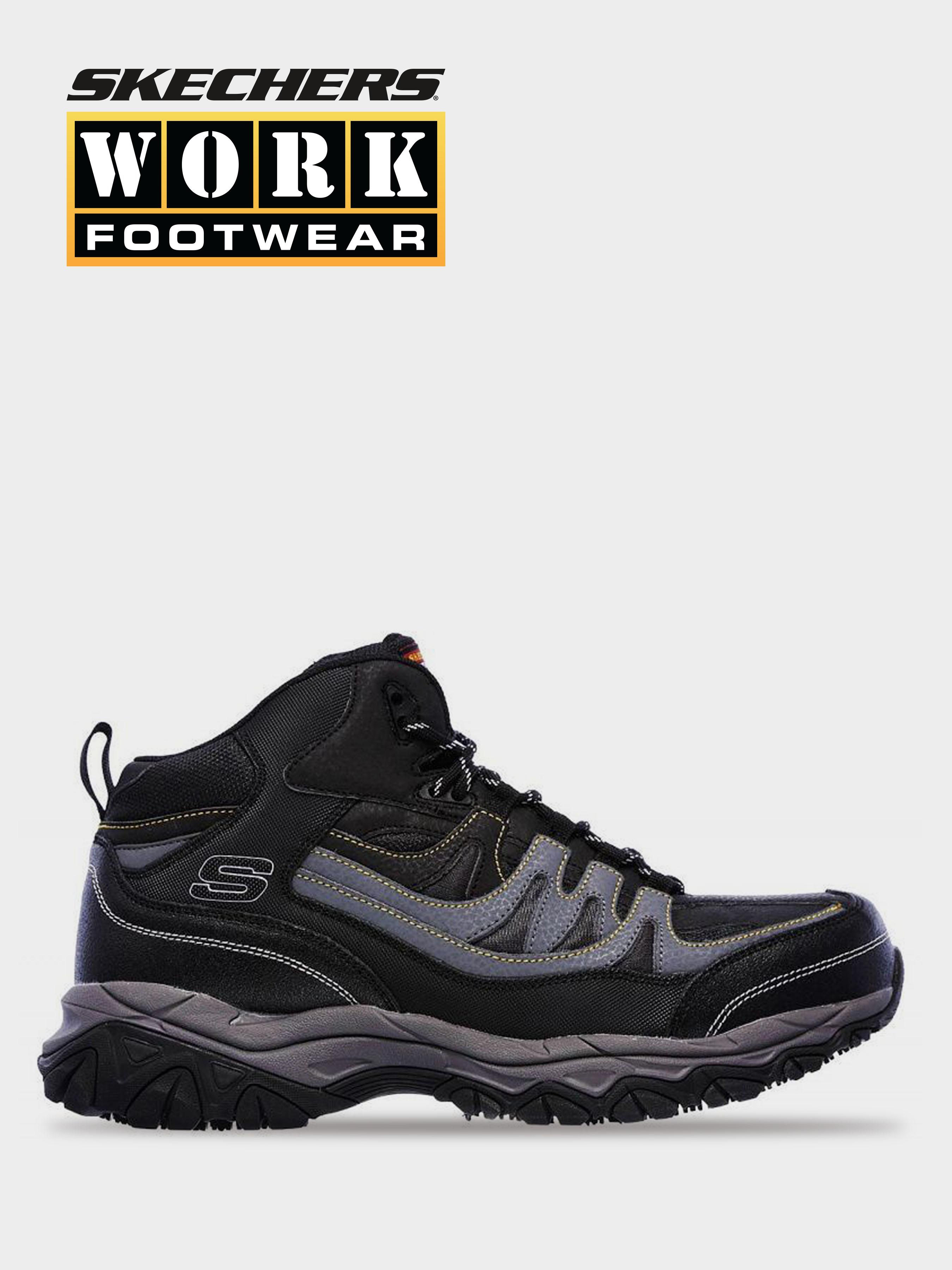 Купить Ботинки мужские Skechers KM3413, Черный