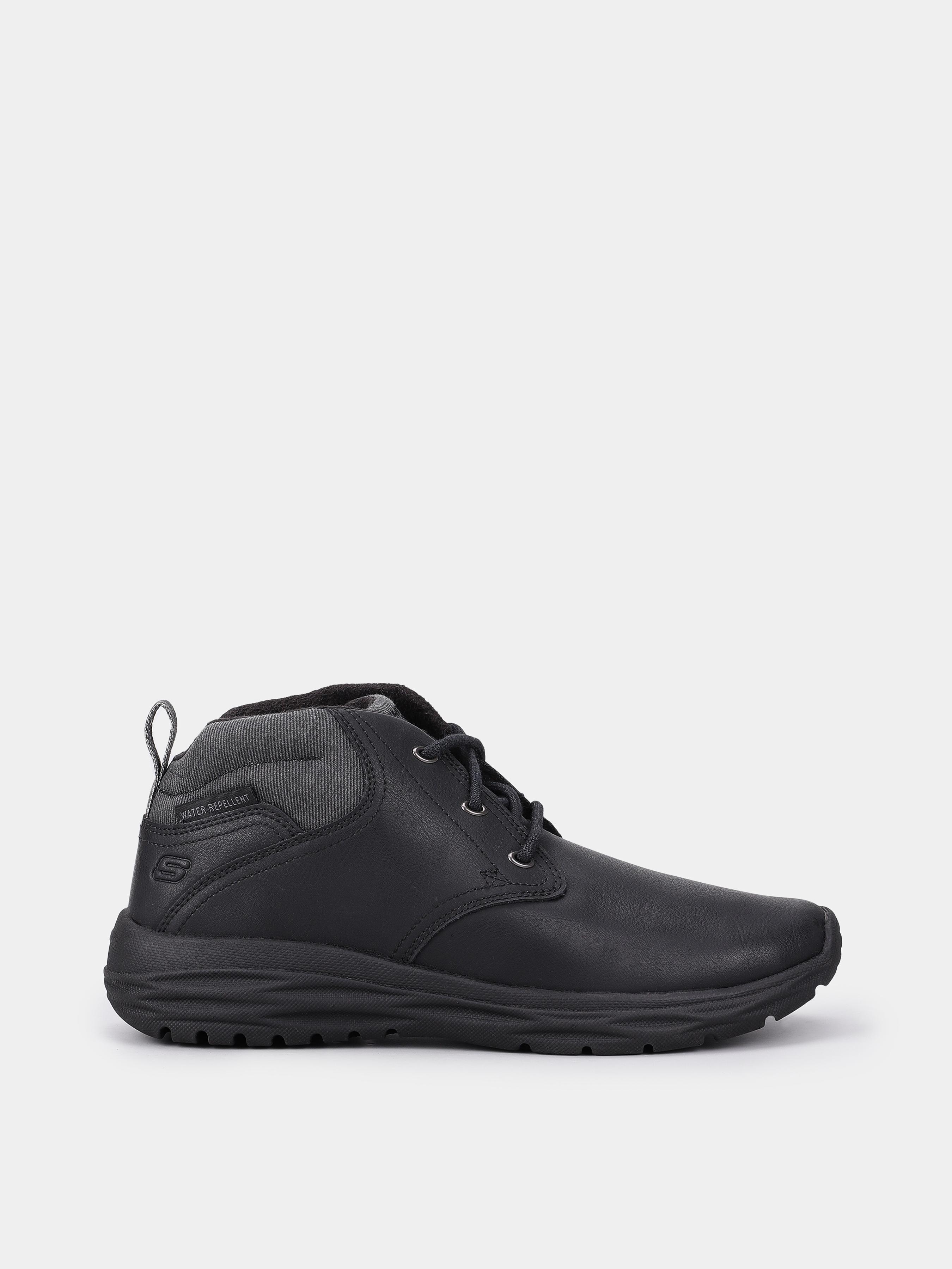 Купить Ботинки мужские Skechers KM3424, Черный