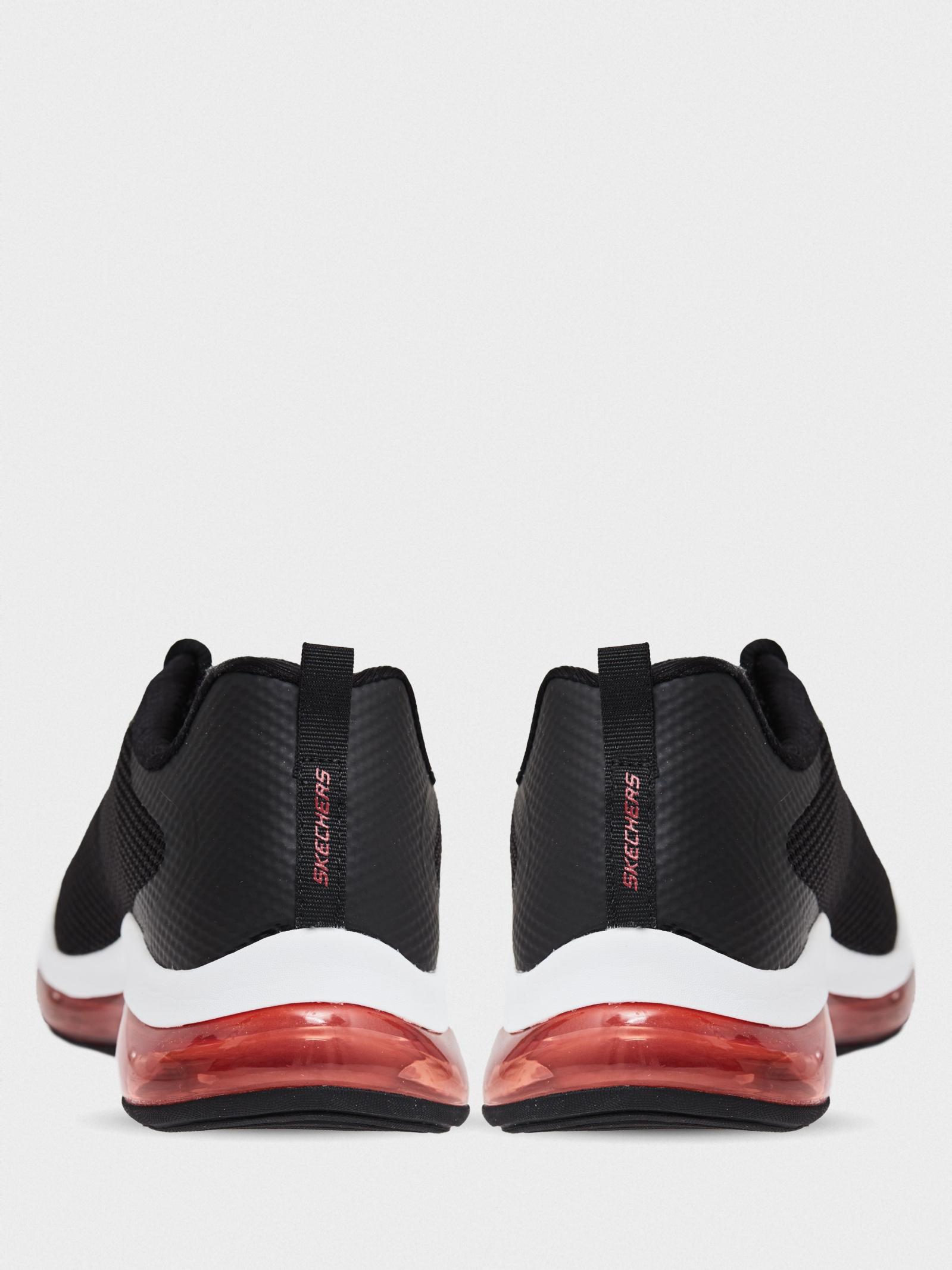 Кросівки  чоловічі Skechers 232036 BKRD брендове взуття, 2017