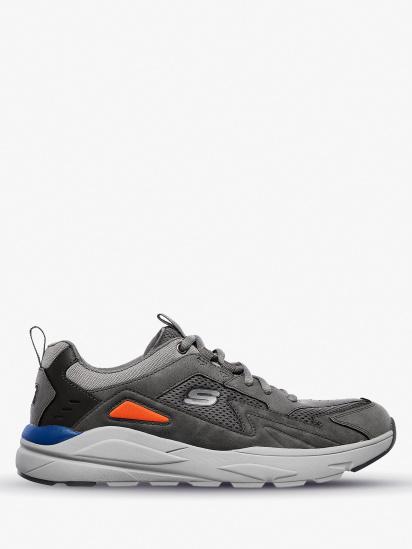 Кроссовки для мужчин Skechers USA Streetwear 210037 GRY модная обувь, 2017