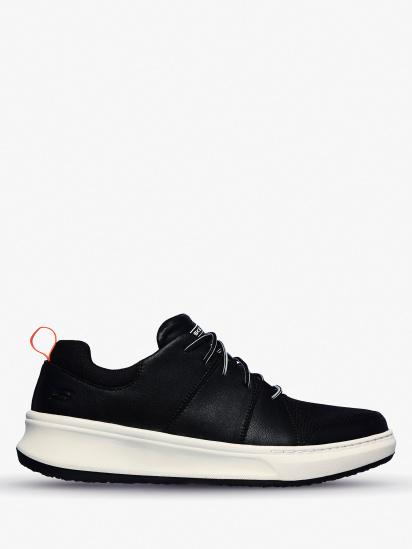 Напівчеревики  для чоловіків Skechers USA Streetwear 210045 BLK примірка, 2017