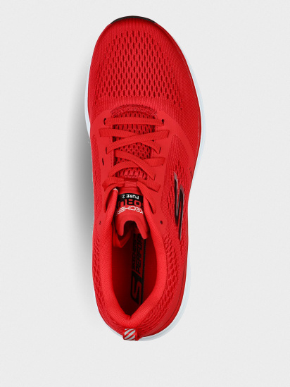 Кросівки для бігу Skechers GOrun Pure 2 модель 220204 RDBK — фото 4 - INTERTOP