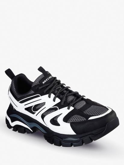 Кросівки для міста Skechers Relaxed Fit Stak-Ultra - Treso модель 66255 BKW — фото 4 - INTERTOP