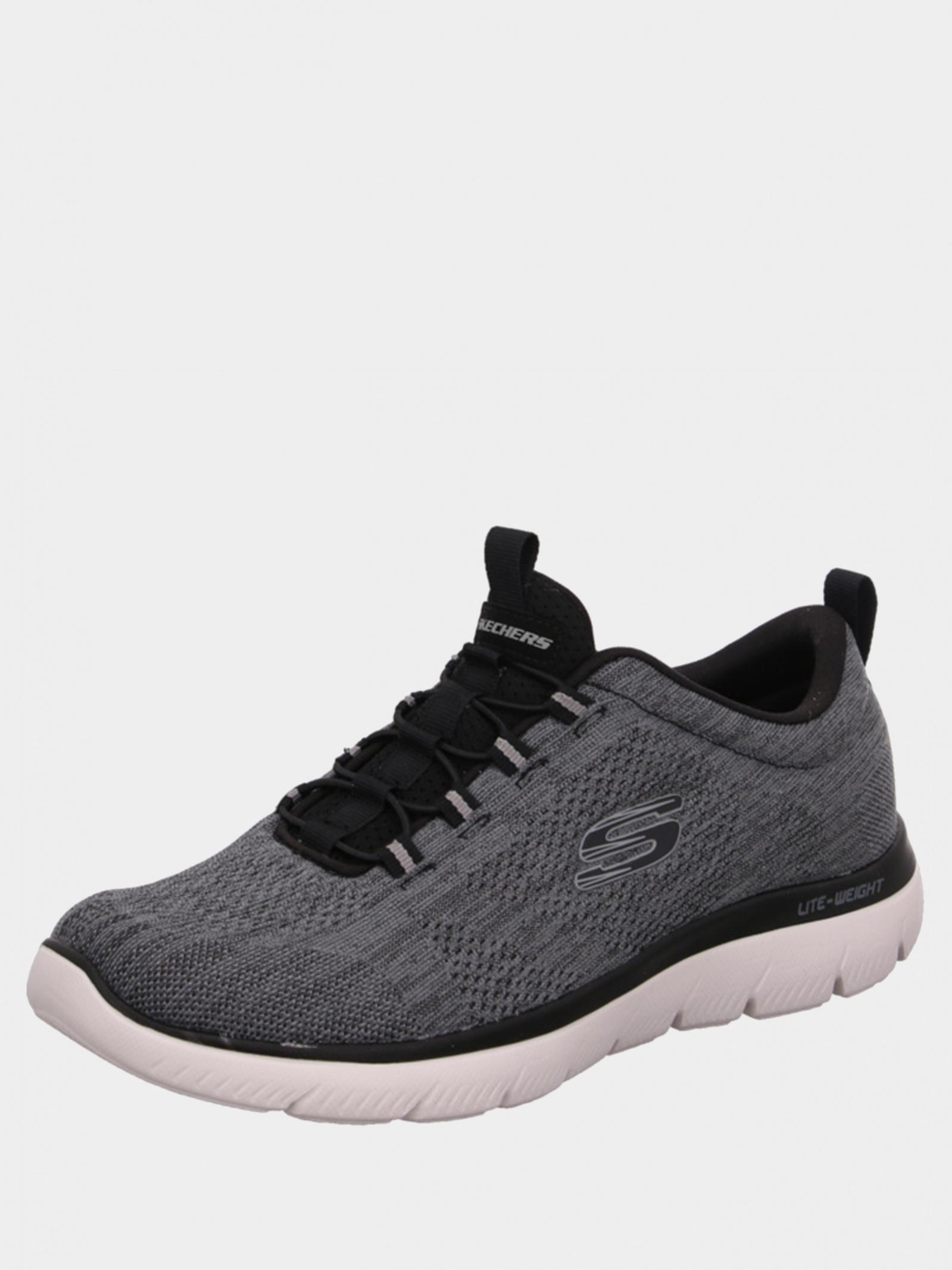 Кросівки  чоловічі Skechers Mens Sport 232186 BKW брендове взуття, 2017