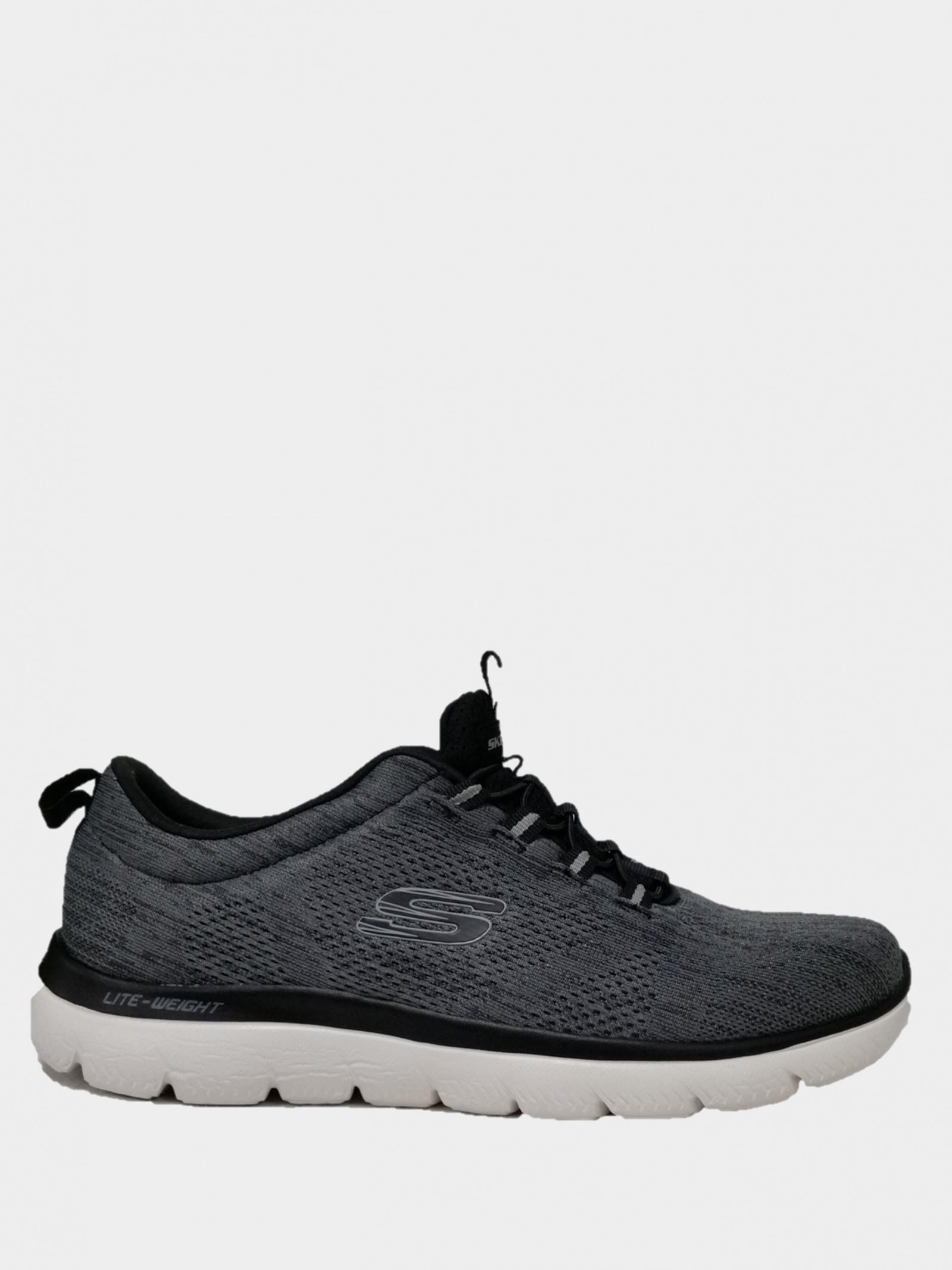 Кросівки чоловічі Skechers Mens Sport 232186 BKW - фото