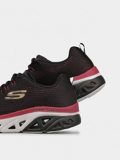 Кросівки для міста Skechers Glide-Step Sport - Wave Heat модель 232270 BKRD — фото 4 - INTERTOP