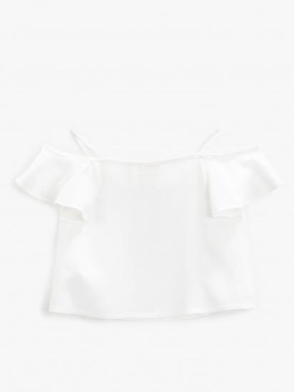 Блуза з коротким рукавом Koton модель 1YKG67720OWBT4 — фото 2 - INTERTOP