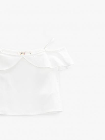 Блуза з коротким рукавом Koton модель 1YKG67720OWBT4 — фото 3 - INTERTOP