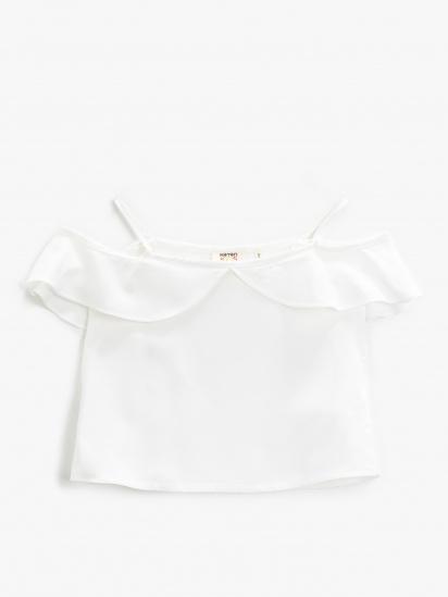 Блуза з коротким рукавом Koton модель 1YKG67720OWBT4 — фото - INTERTOP