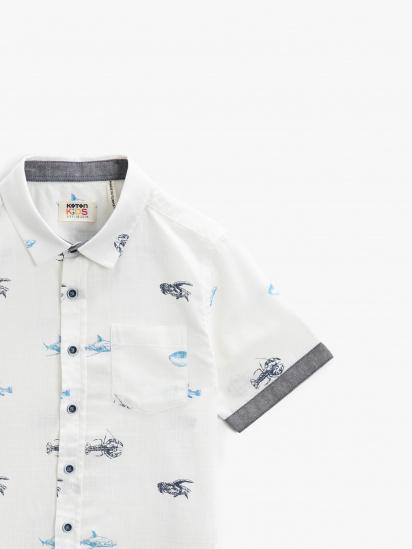 Сорочка з коротким рукавом Koton модель 1YKB66248OW05U — фото 3 - INTERTOP