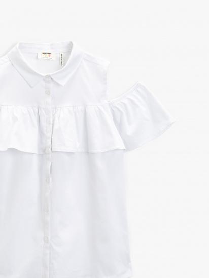 Сорочка з коротким рукавом Koton модель 1YKG67387OW000 — фото 3 - INTERTOP
