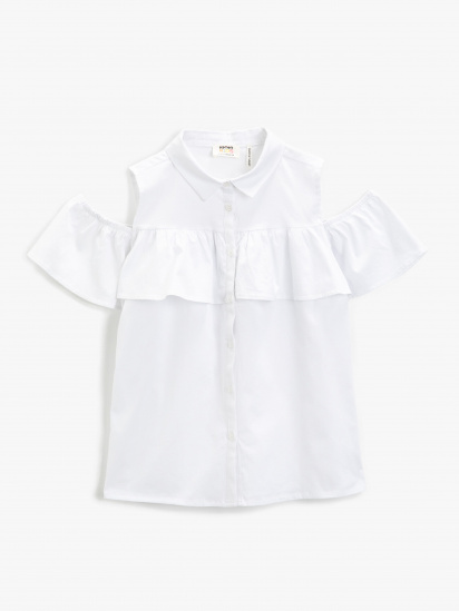 Сорочка з коротким рукавом Koton модель 1YKG67387OW000 — фото - INTERTOP