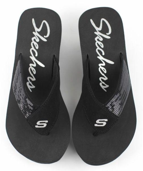 Вьетнамки для женщин Skechers 38037-BLK размеры обуви, 2017