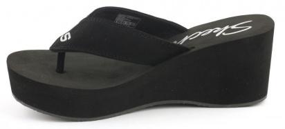 Вьетнамки для женщин Skechers 38037-BLK брендовая обувь, 2017