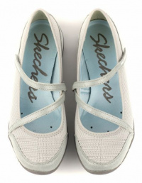 Полуботинки для женщин Skechers 22156 GRY размеры обуви, 2017