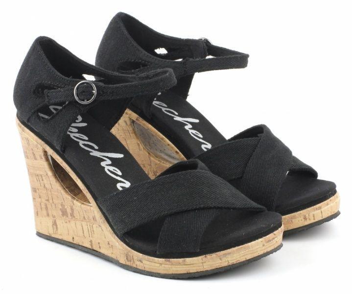 Босоножки для женщин Skechers 38198 BLK купить обувь, 2017