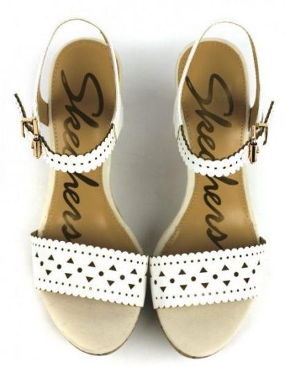 Босоножки для женщин Skechers 38374 WHT брендовая обувь, 2017