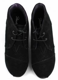 Ботинки для женщин Skechers 48576 BLK купить обувь, 2017