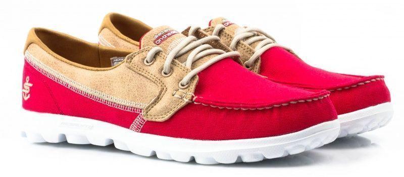 Купить Мокасины женские Skechers KW3658, Красный