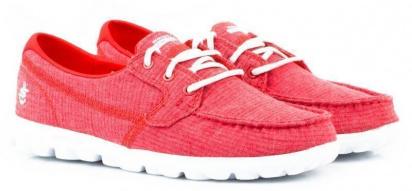Мокасини  для жінок Skechers 13841 RED модне взуття, 2017