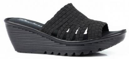Босоніжки  для жінок Skechers 38458 BBK купити взуття, 2017