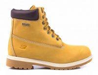 женская обувь Skechers желтого цвета характеристики, 2017