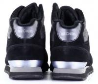 Ботинки для женщин Skechers 681 BLK модная обувь, 2017