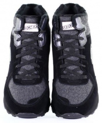 Ботинки для женщин Skechers 681 BLK , 2017