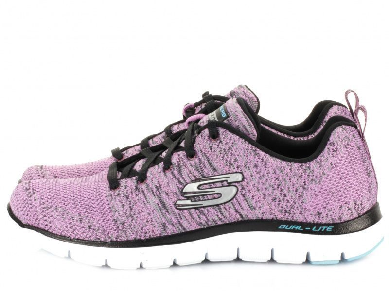 Кроссовки для женщин Skechers 12756 LAV брендовая обувь, 2017