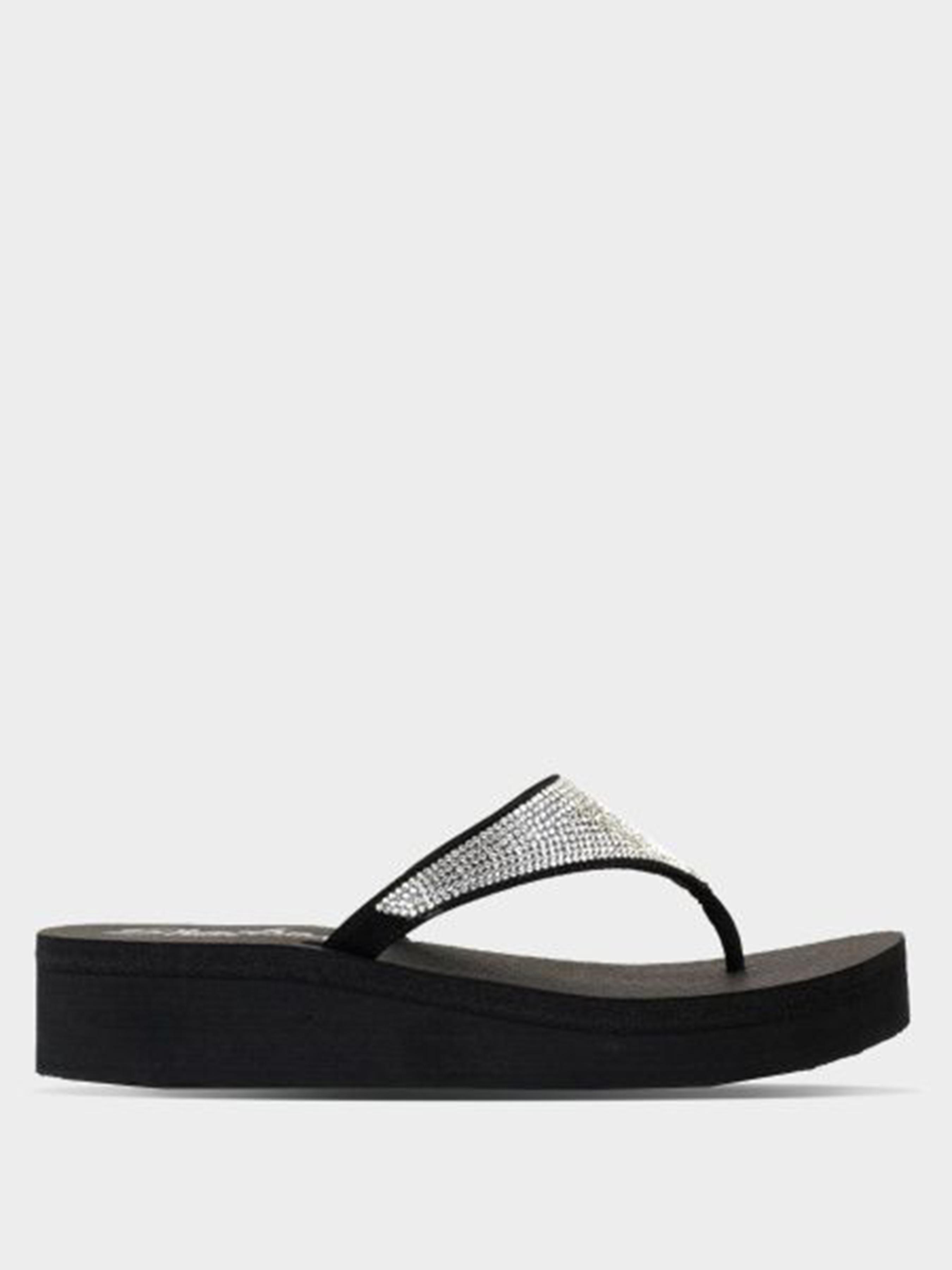 Купить Вьетнамки женские Skechers KW3882, Черный