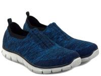 Слипоны для женщин Skechers 12419 NVBL модная обувь, 2017