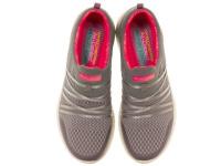 Слипоны для женщин Skechers 12735 GYCL брендовая обувь, 2017