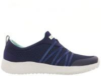 Слипоны для женщин Skechers 12735 NVAQ купить обувь, 2017