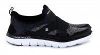 Слипоны для женщин Skechers 12752 BKW брендовая обувь, 2017