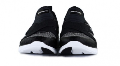 Слипоны для женщин Skechers 12752 BKW модная обувь, 2017