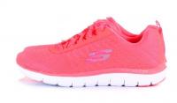 Кроссовки для женщин Skechers 12757 CRL брендовая обувь, 2017