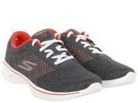 женская обувь Skechers серого цвета, фото, intertop