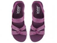 Босоножки для женщин Skechers 14682 PUR брендовая обувь, 2017