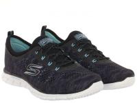 Кроссовки для женщин Skechers 22722 BKAQ брендовая обувь, 2017