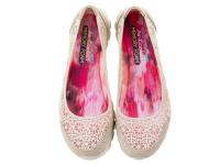 Балетки для женщин Skechers 23413 NAT купить обувь, 2017